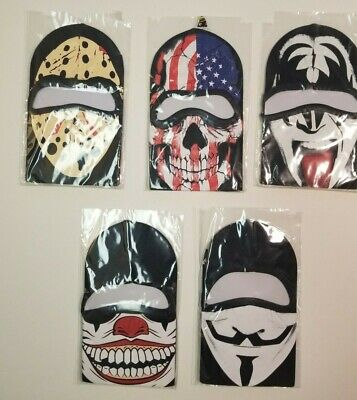 Jason From Halloween (Guy Fawkes Jason Halloween Face Mask Ski American Flag SHIPS FAST FROM)
