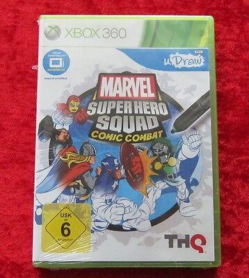Marvel Super Hero Squad Comic Combat, XBox 360 Spiel, Neu, deutsche Version (Super Hero Squad Comic)