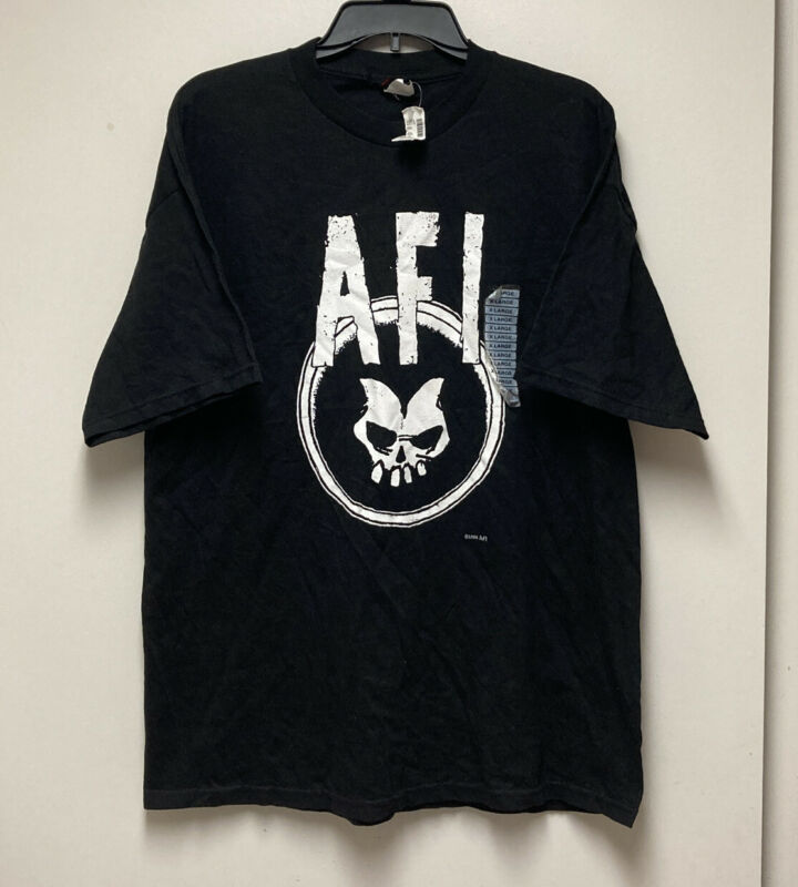 Vintage VTG AFI A Fire Inside I Hate Punk Rock T-Shirt Size XL New W Tags Rare