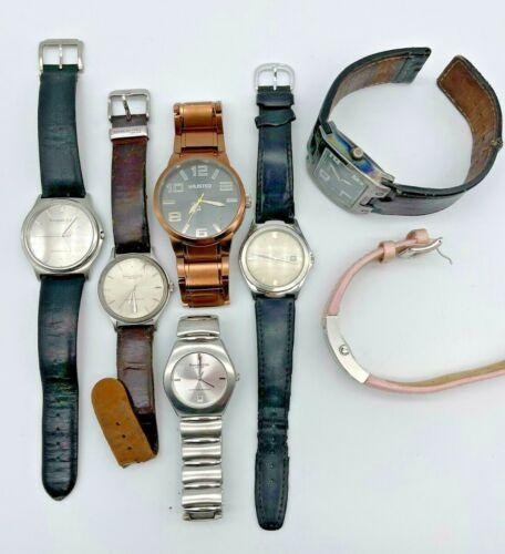 Lot of 7 KENNETH COLE Watches - Modern, Quartz, Analog, Men