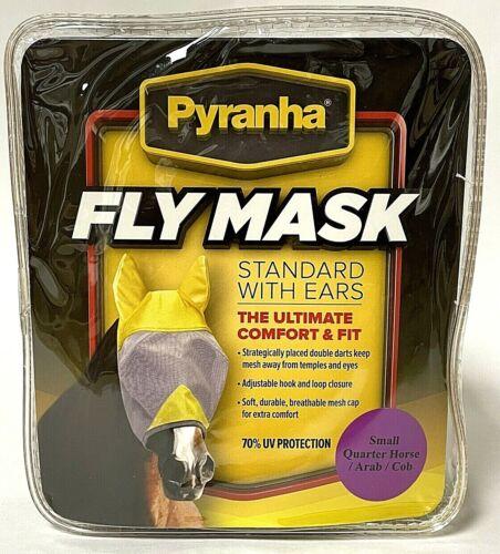 Pyranha Small Quarter Horse Arab Cob Standard With Ears Fly Mask
