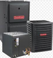 Rent to own furnace AC tankless water heaters