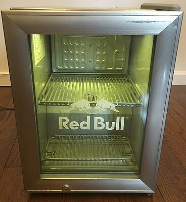 Red Bull Commercial Reach In Piece Top Mini Fridge Cooler Display PICK UP ONLY