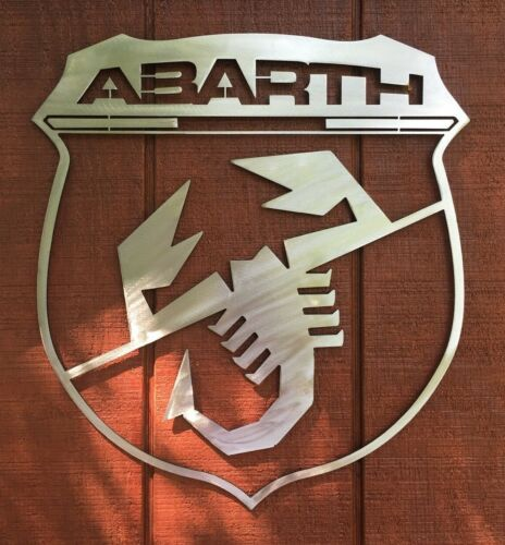Abarth Metal Sign