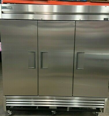 Three Section Reach-in Refrigerator