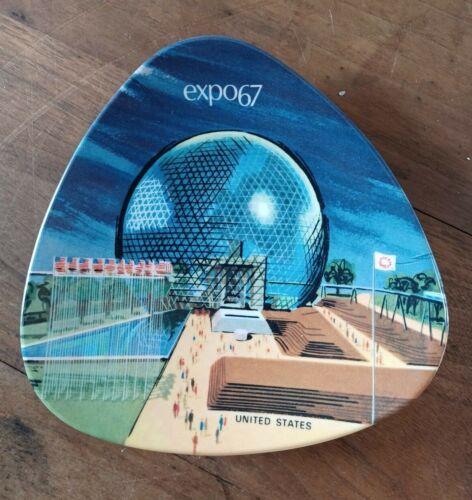 Expo 67 United States Pavilion Dish