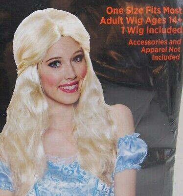 Renaissance Prinzessin Perücke Erwachsene One Größe für Meisten - Blonde Perücken Für Halloween