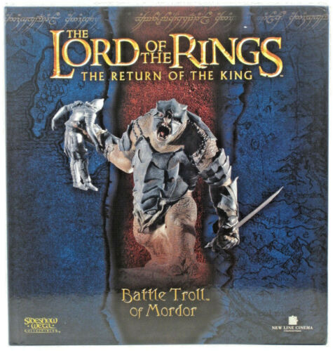 Sideshow collectibles The Lord of the Rings BATTLE TROLL OF MORDOR Statue NEW!