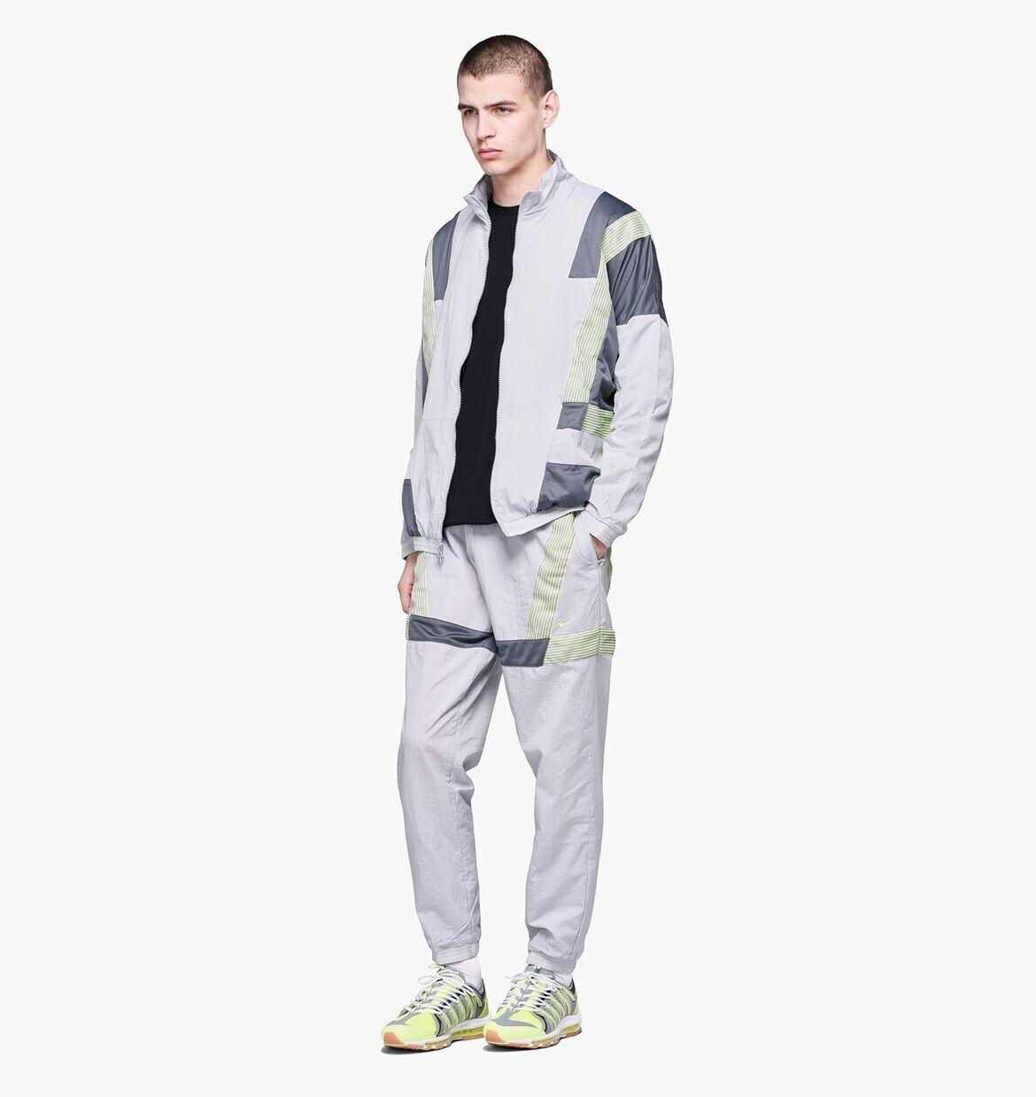 NWT $200 MEN'S NIKE X CLOT TRACKSUIT WOLF GREY DARK VOLT REF