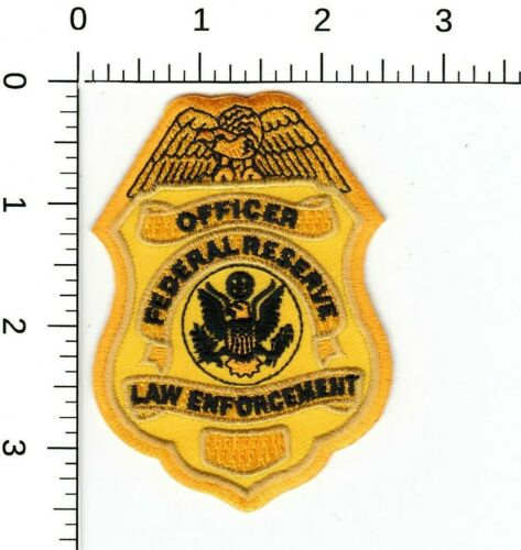 FEDERAL RESERVE LAW ENFORCEMENT HAT VEST NOVELTY COLLECTIBLE POLICE PATCH DC