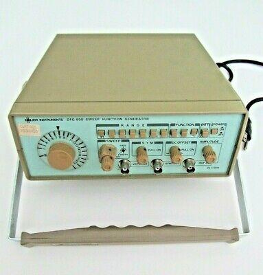 Jdr Instruments Dfg-600 Sweep Function Generator - Oscilloscope Oscillator