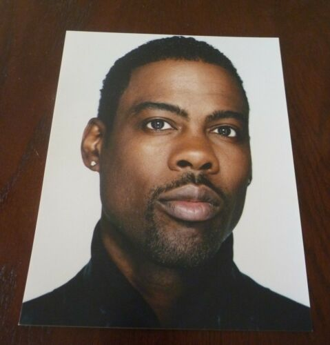 Chris Rock Comedien Movie Actor Sexy 8x10 Color Promo Photo