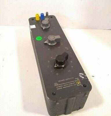 Vintage General Radio Decade Capacitor Type 1419-m