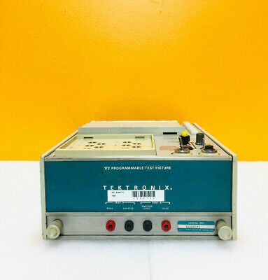 Tektronix 172 Programmable Test Fixture. Used With 576 Curve Tracer Tested