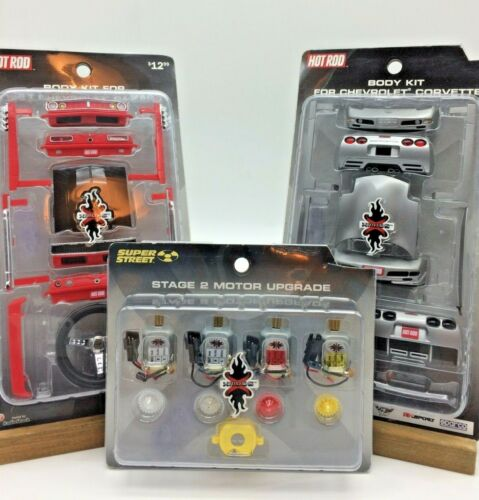 XMODS Stage 2 Motor Upgrade Kit Super Street Hot Rod + 2 Body Kits See Below