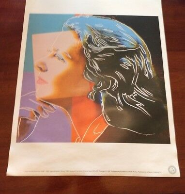 """ANDY WARHOL COLLECTOR'S LITHOGRAPH PRINT """"Ingriid Bergmanf"""" 1984"""