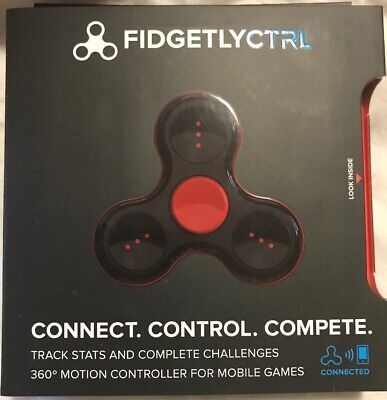 Fidgetly Fidget Spinner Connects With Smartphones!