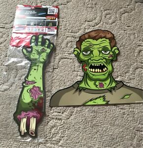 Zombie Halloween Wiper tag decoration