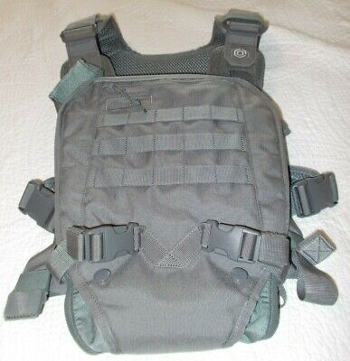 Mission Critical Baby Carrier, Tactically Inspired, Gray, Model 10415G