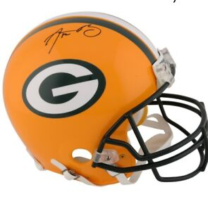 Aaron Rogers PROLINE Signed Green Bay Packers Helmet
