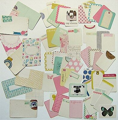 Project Life  Becky Higgins    Maggie Holmes   Core Kit Cards   60 Cards