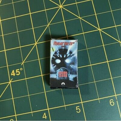 1/6 Custom VHS Horror rental tape accessory friday the 13th part - Halloween 6 Part 1