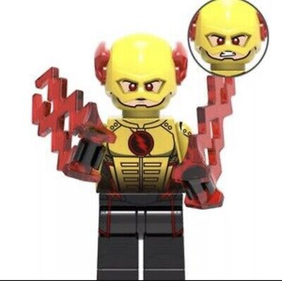 REVERSE FLASH CUSTOM MINIFIGURE PLAY WITH LEGOS USA SELLER