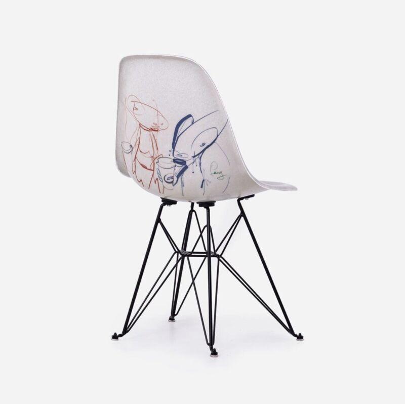 Futura Laboratories x Alchemist Art Cafe x Modernica Case Study Chair