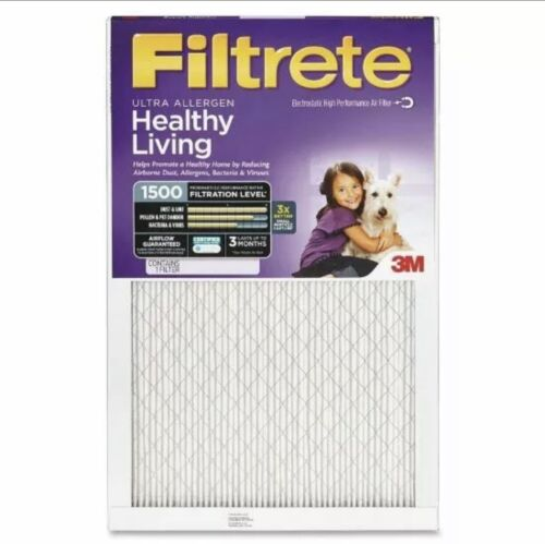 Filtrete Advanced Allergen Reduction Air and Furnace Filter