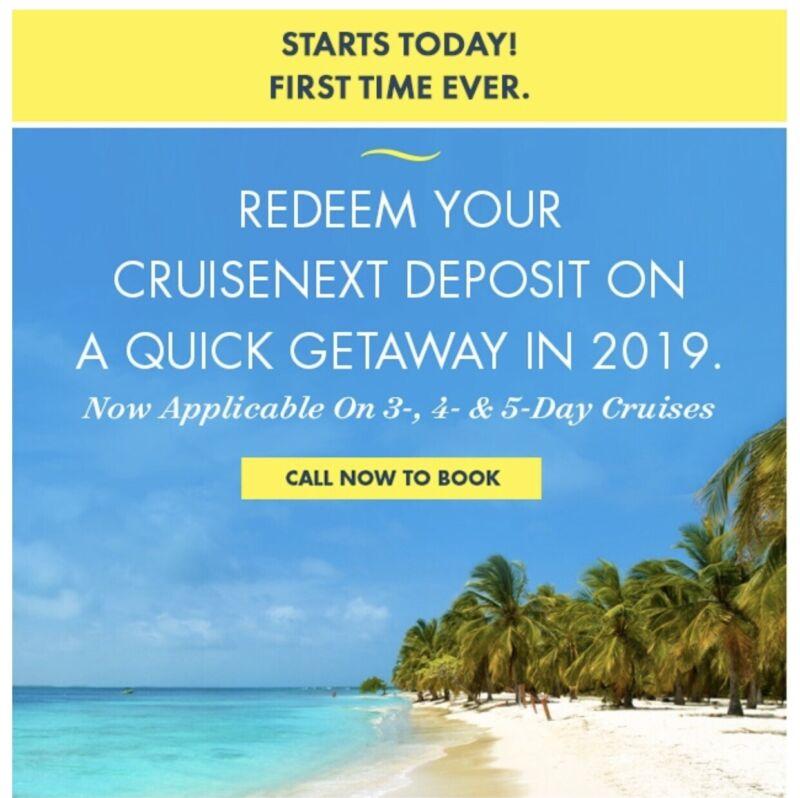 Norwegian next Cruise certificate 250* 2= 500$