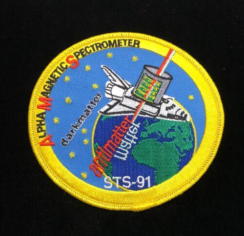 ALPHA MAGNETIC SPECTROMETER DARKMATTER / ANTIMATTER PATCH STS-91 MISSION