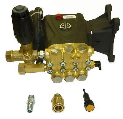 Ar Rrv4g40-vrt-pkg Pressure Washer Pump With Ez Unloader Thernal Valve
