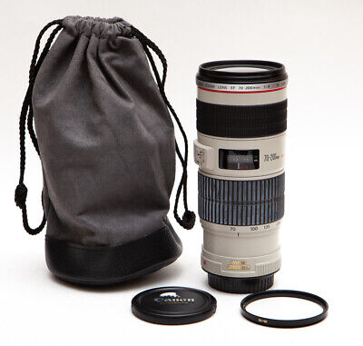 Canon EF 70-200mm 70-200 f/4L f/4 f4L f4 L IS USM + UV Filter - Sharp and Fast!