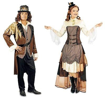 Steampunk Viktorianisches Damen oder Herren Kostüm  Karneval 18. Jahrhundert ()