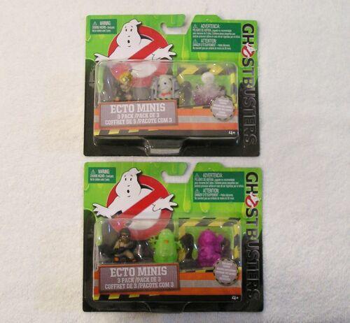 Ghostbusters Ecto Minis Figure Set Lot Jillian Rowan Gertrude Patty Slimer Ghost