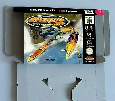 Hydro Thunder - reproduction box with insert - N64 - Pal REGION. HQ !!