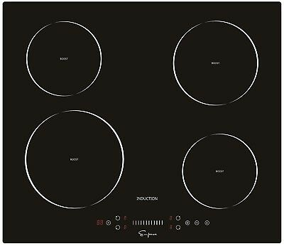 """- Empava 24"""" Electric Induction Cooktop With 4 Booster Burners EMPV-IDC24"""