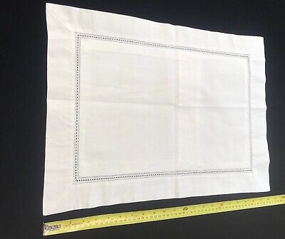 Vintage Oxford Pillow Case, White  22' X 16'