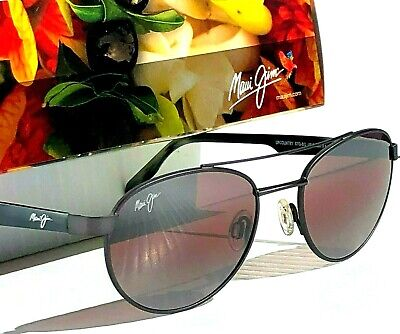 NEW* Maui Jim UP COUNTRY Gunmetal w POLARIZED ROSE Sunglass (Maui Jim Upcountry)