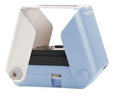 KiiPix Smartphone Picture Printer Instant Portable Blue