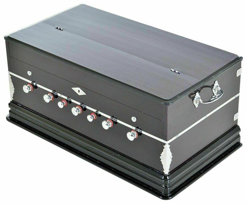 7 Stopper Chudidaar Double Bellow 39 Key 440Hz Long Sustain Sound Harmonium
