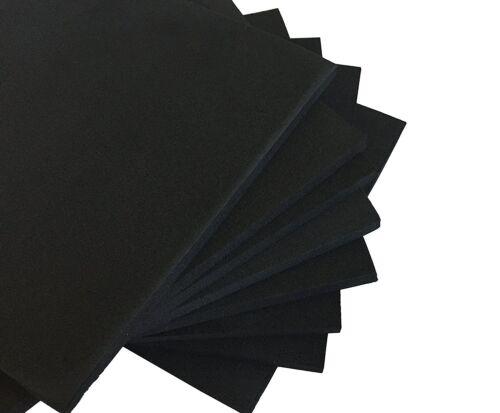 "XCEL Foam Rubber Padding Acoustic Damper Anti-Vibration Pads 6""x6""x1/4"" (8 pack)"