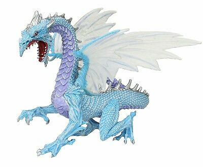 Safari Ltd Ice Dragon Collectible Toy Figure Dra Collection New w Tag Item 10145