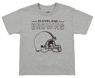 Outerstuff NFL Youth Cleveland Browns Short Sleeve Fan Base Tee Cleveland Browns Youth Short