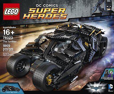 LEGO Batman The Tumbler 76023 DC Comics New Factory Sealed