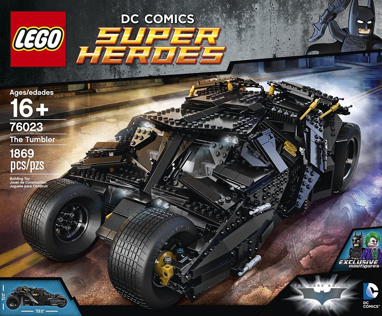 Lego - LEGO Batman The Tumbler 76023 DC Comics New Factory Sealed