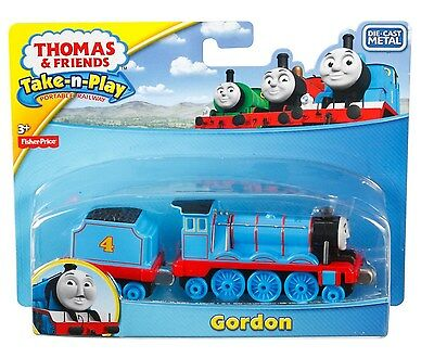 Fisher Price Thomas & Friends Take-n-Play GORDON die-cast engine! magnet NEW