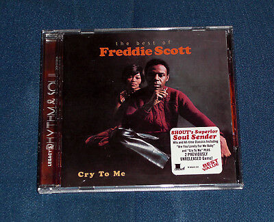 Best of FREDDIE SCOTT Cry To Me NM Shout Soul Sender ARE YOU LONELY FOR ME