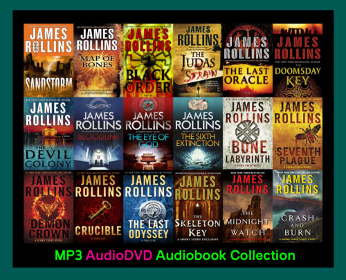 The SIGMA FORCE Series By James Rollins  (19 MP3 Audiobook Collection)