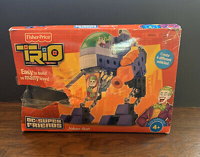 Fisher Price Trio Joker Bot EUC